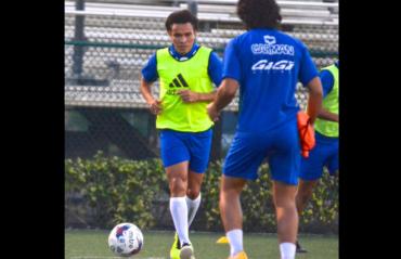 """""""Rambo"""" León ya entrenó por primera vez con su nuevo equipo el Miami United"""