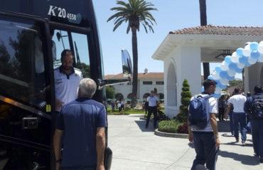 La Selección Argentina llega a EE.UU. sin Lionel Messi