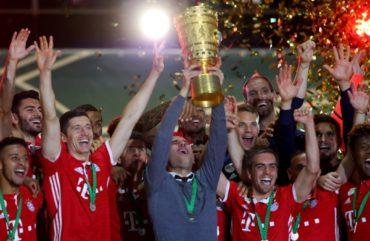 Bayern ganó la Copa de Alemania en adiós de Pep