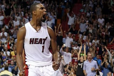 Chris Bosh no se recuperó; adiós Playoffs NBA