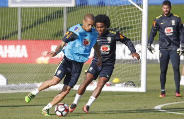 Copa América Centenario: Brasil realiza primera práctica en Los Ángeles