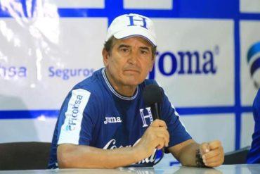 Jorge Luis Pinto quiere hacer un papel decoroso ante Argentina