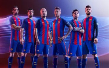 Imágenes oficiales de la nueva camiseta del Barça sin patrocinador