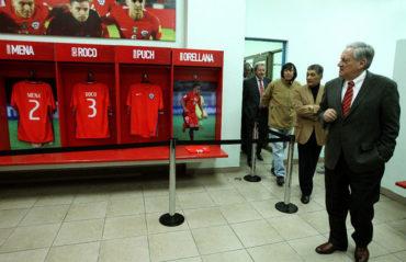 Presidente de la ANFP inaugura museo oficial de la selección chilena