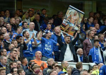 Aficionados del Leicester City esperan ser campeones hoy de Inglaterra