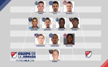 Roger Espinoza, apareció en el en el 11 ideal de la MLS