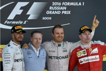 Nico Rosberg se impone en el GP de Rusia y mantiene su racha de victorias