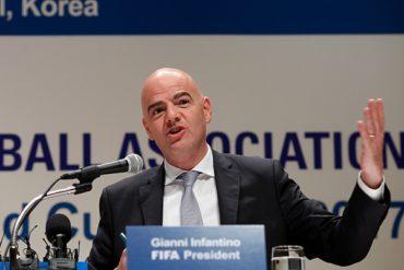 """Infantino: """"FIFA está recuperando credibilidad"""""""