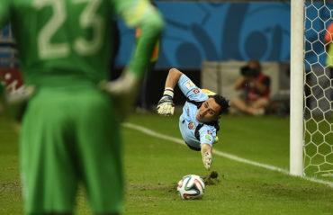 Keylor Navas, portero de la selección de Costa Rica, ausente en la Copa América Centenario