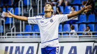 Anthony Lozano arribó a su noveno gol con la camiseta del Tenerife