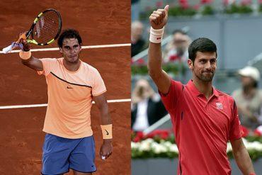 Nadal y Djokovic, a cuartos del Masters de Madrid