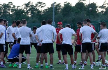 Copa América Centenario: Paraguay realizó su primer entrenamiento en Orlando