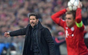 """Simeone: """"Hemos eliminado a dos de los tres mejores equipos del mundo"""""""