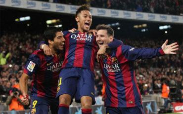 Tridente del Barcelona ha marcado 130 goles en la temporada