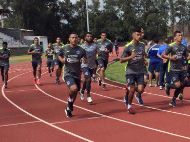 Luis Garrido fue la novedad en el entrenamiento del Motagua