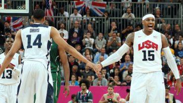Carmelo, Lowry, Butler y DeAndre Jordan irán a los Juegos