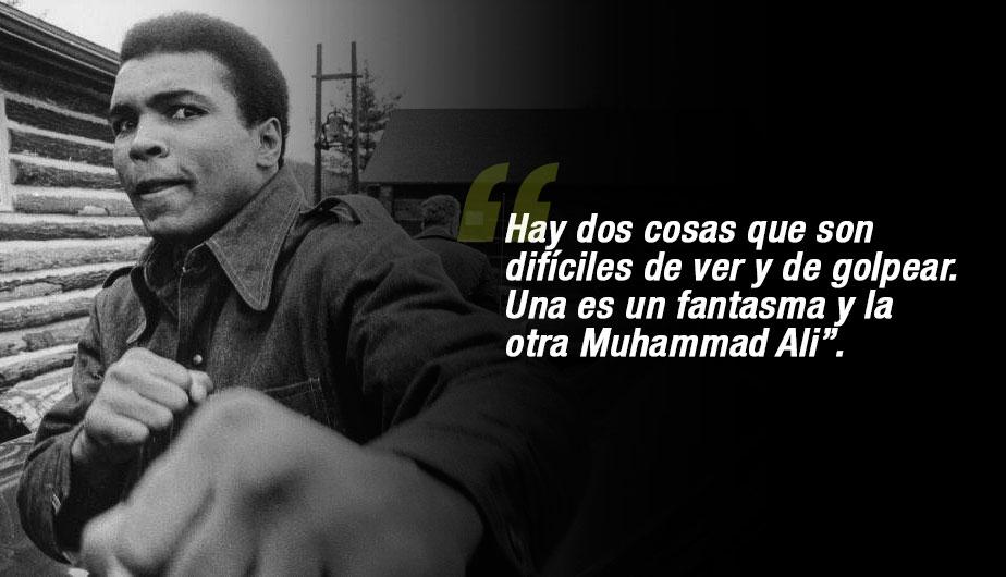 Las Frases Más Célebres Del Legendario Muhammad Ali
