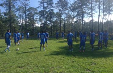 Sub-20 de Honduras sumó una nuevo semana de trabajo