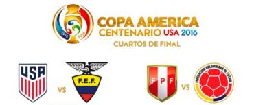 Definidos los dos primeros cruces por cuartos de final de la Copa América