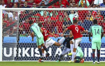 VIDEO: Portugal empató con Hungría y se clasificó a octavos de la Eurocopa 2016
