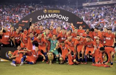 Chile es bicampeón de América