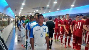 """La """"H"""" Sub-23 Olímpica cayó en su primer amistoso ante Dinamarca"""