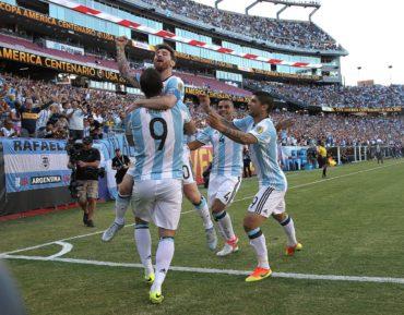 Argentina vence a Venezuela y se clasifica a la semifinales de la Copa América