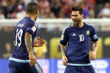 Messi se convirtió en el goleador histórico de la Selección Argentina