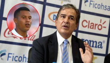 "Jorge Luis Pinto: ""En ningún momento he descartado a Óscar Salas de los Olímpicos"""