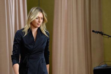 Sharapova no aceptó castigo y apelará suspensión