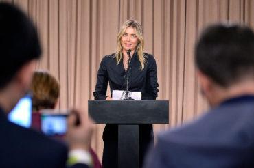 Sharapova apeló suspensión ante el TAS