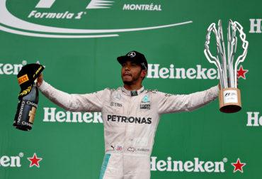 Hamilton se llevó el GP de Canadá
