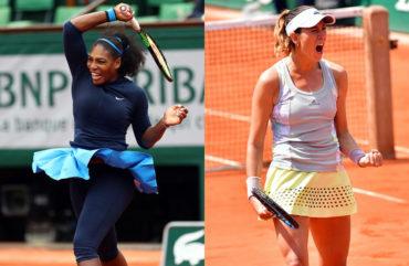Serena y Muguruza, finalistas de Roland Garros