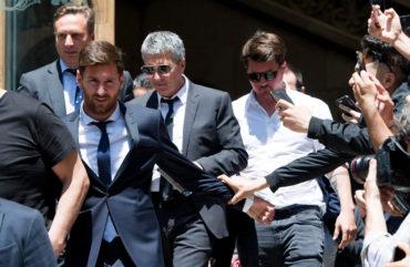 Messi, eximido por fiscalía de fraude