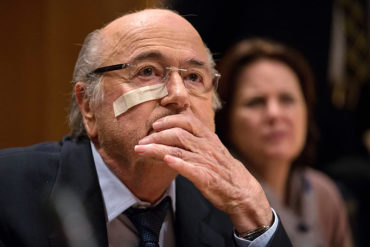 """Blatter: """"Sigo siendo presidente de FIFA"""""""