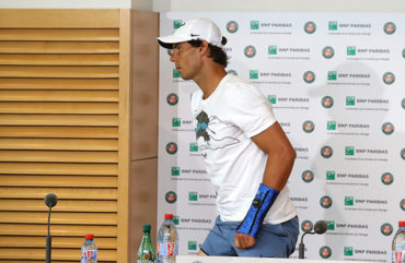 Nadal renunció a Wimbledon por la lesión