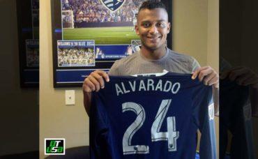 Ever Alvarado es oficialmente jugador del Kansas City de la MLS