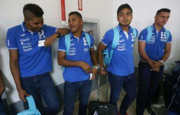 Sub-23 de Honduras retornó al país despues de su gira por Corea