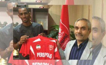 Jerry Bengtson ya no seguirá en el Persépolis del fútbol de Irán