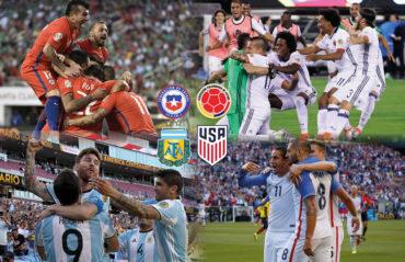 Duras semifinales en la Copa América Centenario