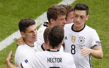 Alemania con un solitario gol venció a Irlanda del Norte