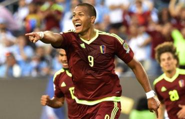 Venezuela elimina a Uruguay de la Copa América Centenario