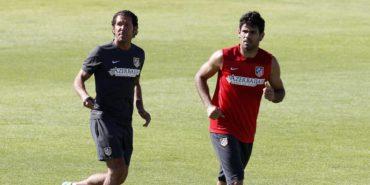 Diego Costa llama a Simeone y le pide que el Atlético le espere