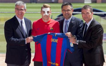 Barça fichó al francés Lucas Digne