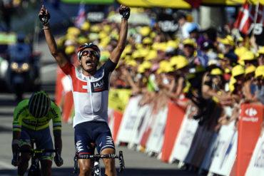 Colombiano Pantano se llevó la 15ª etapa del Tour