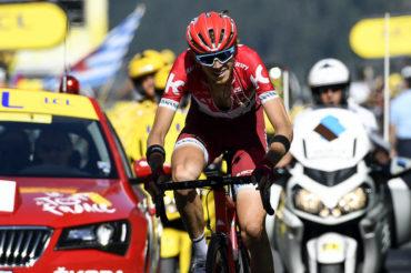 Zakarin conquistó la 17ta etapa del Tour de Francia