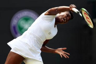 Venus vs. Kerber se verán en Semifinales en Wimbledon