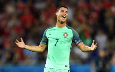 Ronaldo igualó a Platini como goleador de la Euro