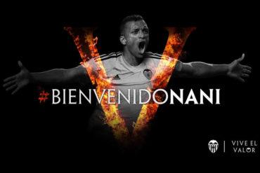 Nani formará parte del Valencia a partir de la próxima temporada