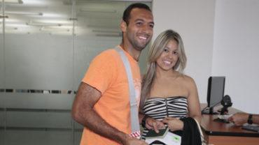"""Solange Olivera, esposa de Fabio: """"Gracias a Dios él se encuentra bien de salud"""""""